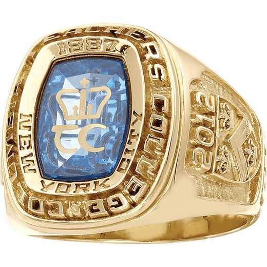 Columbia University Teacher's College Men's Legend Ring