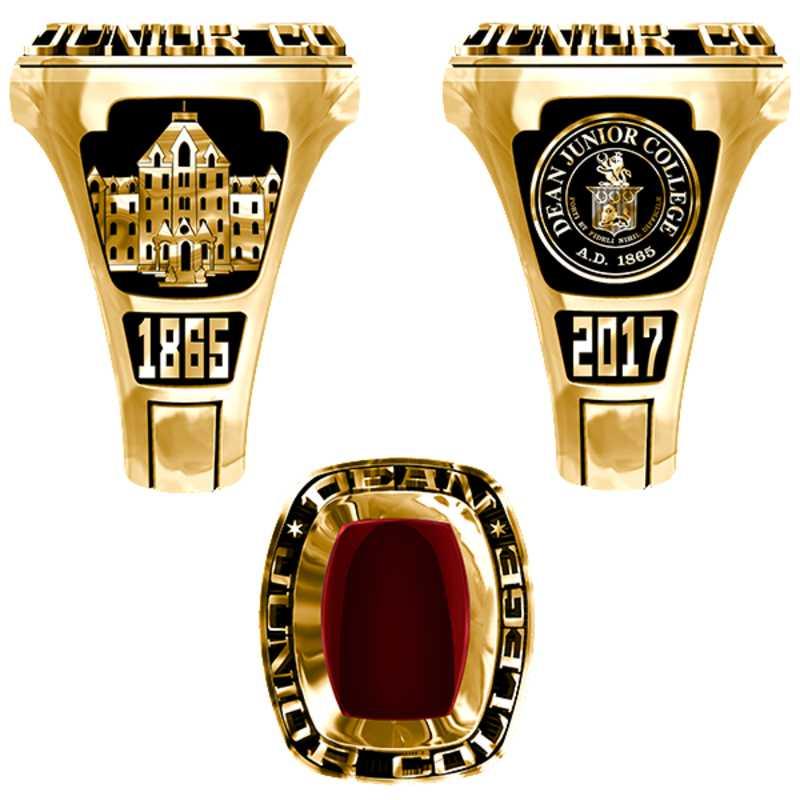 Dean Junior College Men's Legend Ring