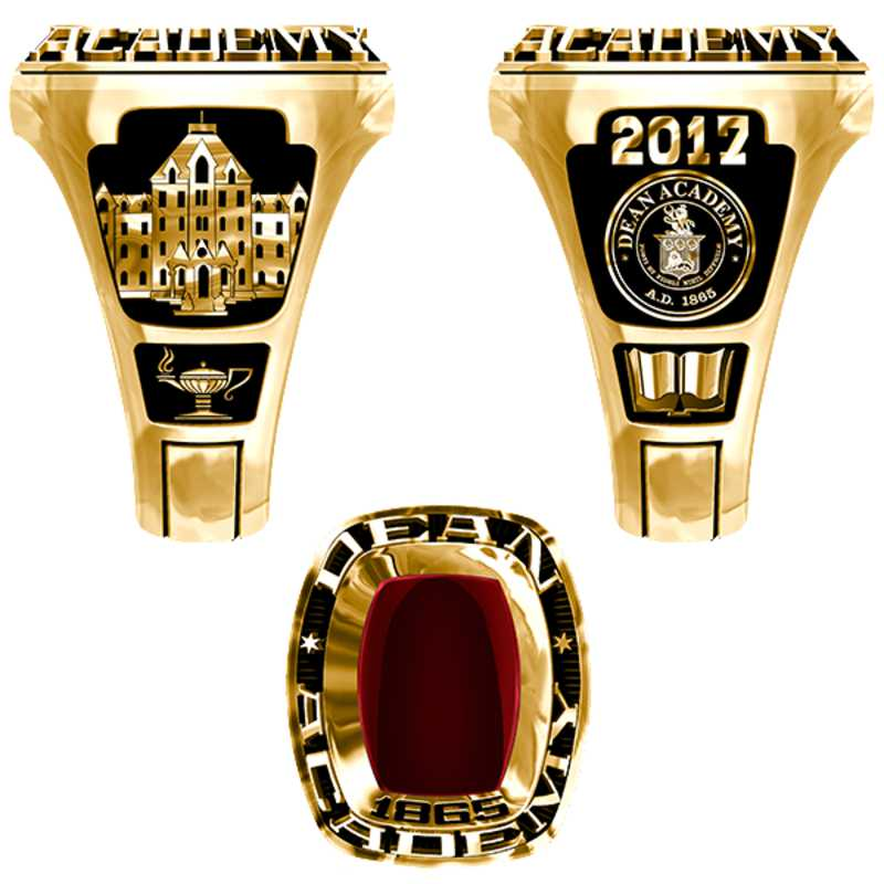 Dean Academy Men's Legend Ring