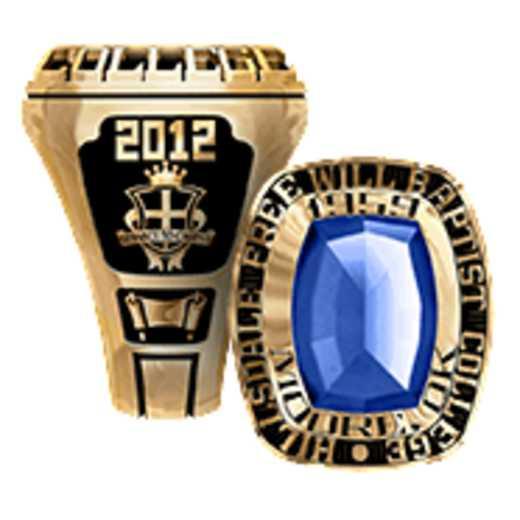 Hillsdale Free Will Baptist College Men's Legend Ring