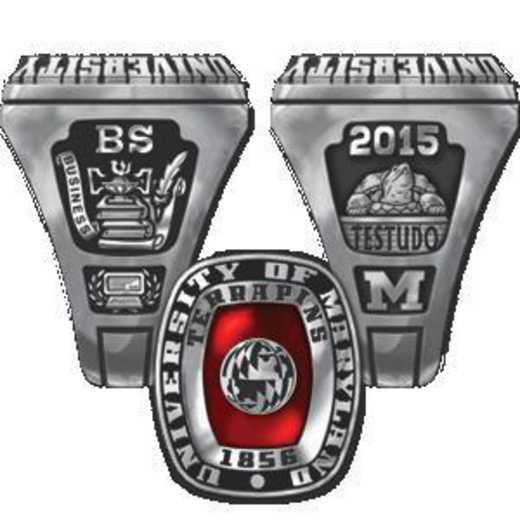 University of Maryland College Park Men's Legend Ring