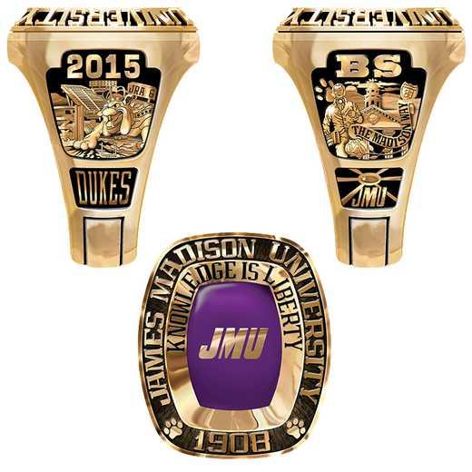 James Madison University Class of 2015 Men's Legend Ring