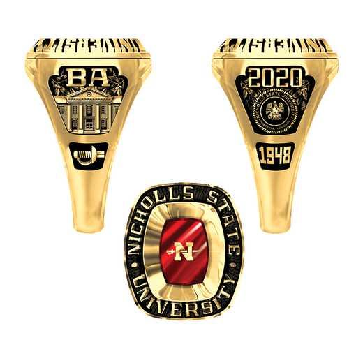 Nicholls State University Women's Lady Legend Ring