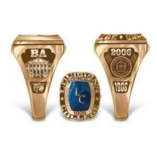 Louisiana College Lady Legend Ring