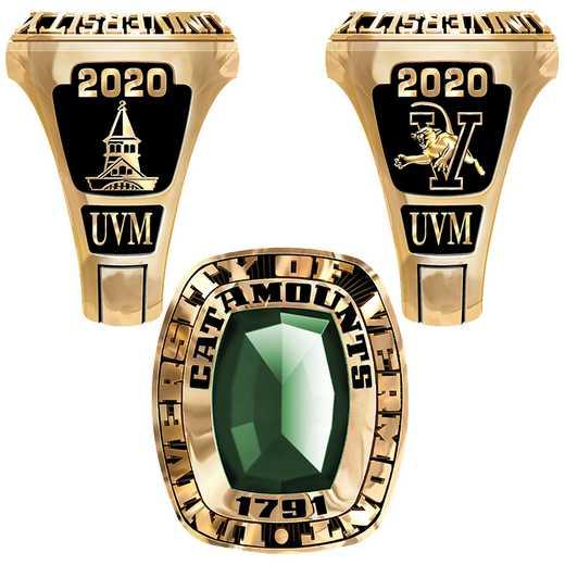 University of Vermont lady Legend Ring