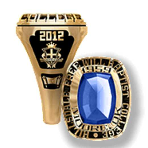 Hillsdale Free Will Baptist College Women's Lady Legend Ring