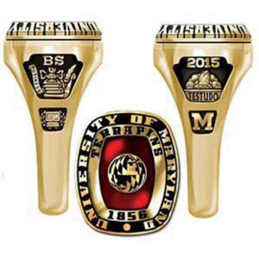 University of Maryland College Park Women's Lady Legend Ring