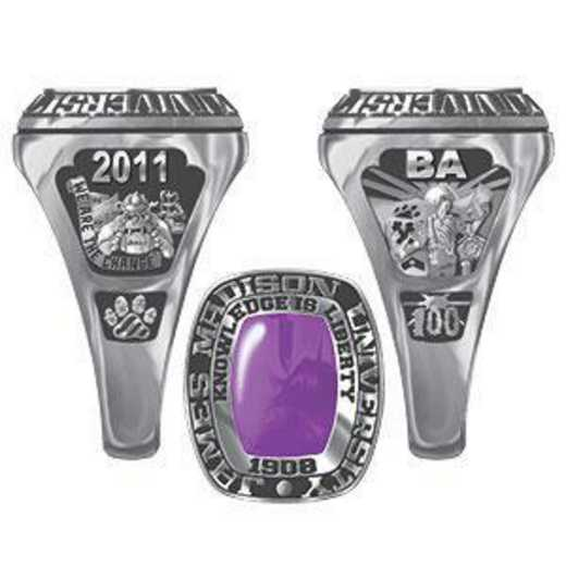 James Madison University Class of 2011 Women's Lady Legend Ring