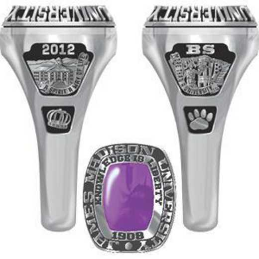 James Madison University Class of 2012 Women's Lady Legend Ring