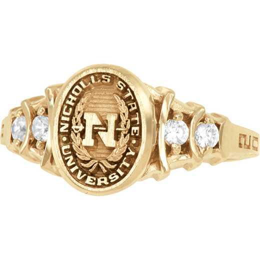 Nicholls State University Women's Crescent Ring
