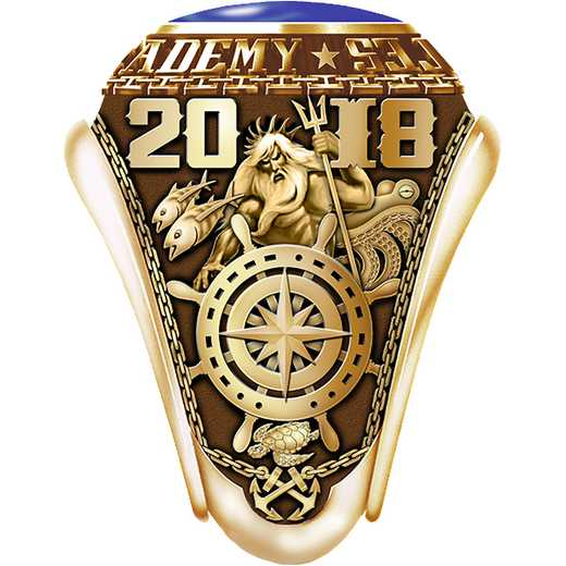 Massachusetts Maritime Academy 2018 Ring