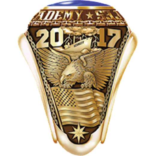 Massachusetts Maritime Academy 2017 Ring