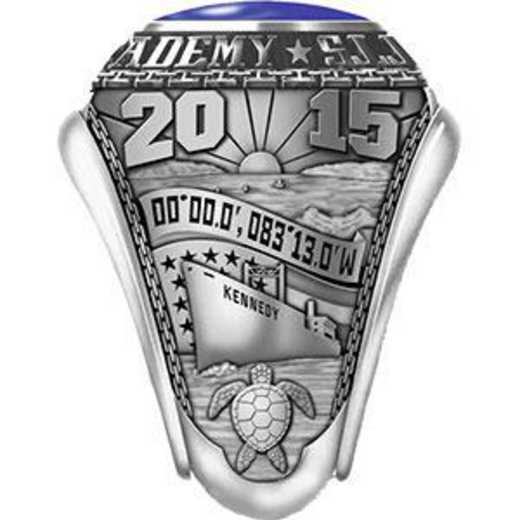 Massachusetts Maritime Academy 2015 Ring