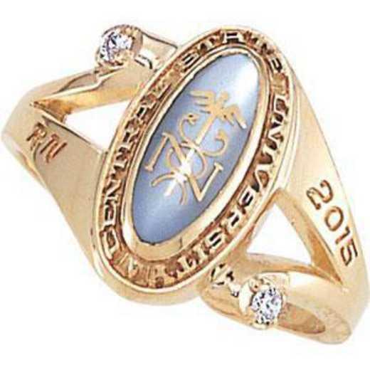 Santa Clara University Women's Symphony Ring with Cubic Zirconias