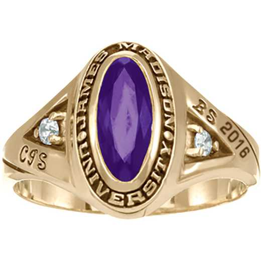 James Madison University Class of 2016 Women's Signature Ring