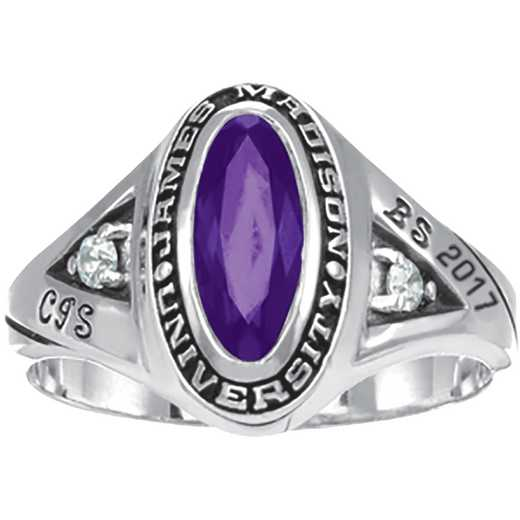 James Madison University Class of 2017 Women's Signature Ring