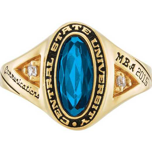 University of California at Riverside Women's Signature Ring College Ring