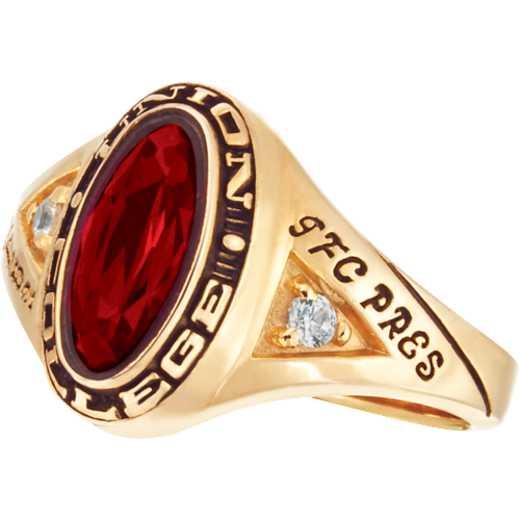 Union College Women's Signature Ring