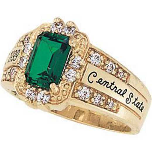 University of California at Riverside Women's Illusion Ring College Ring