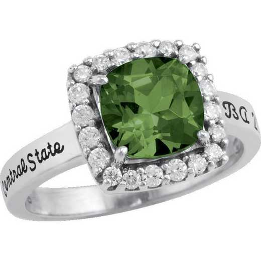 Manhattan College Women's Embrace Ring