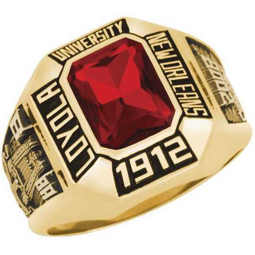 Loyola University New Orleans Women's Stone Ring