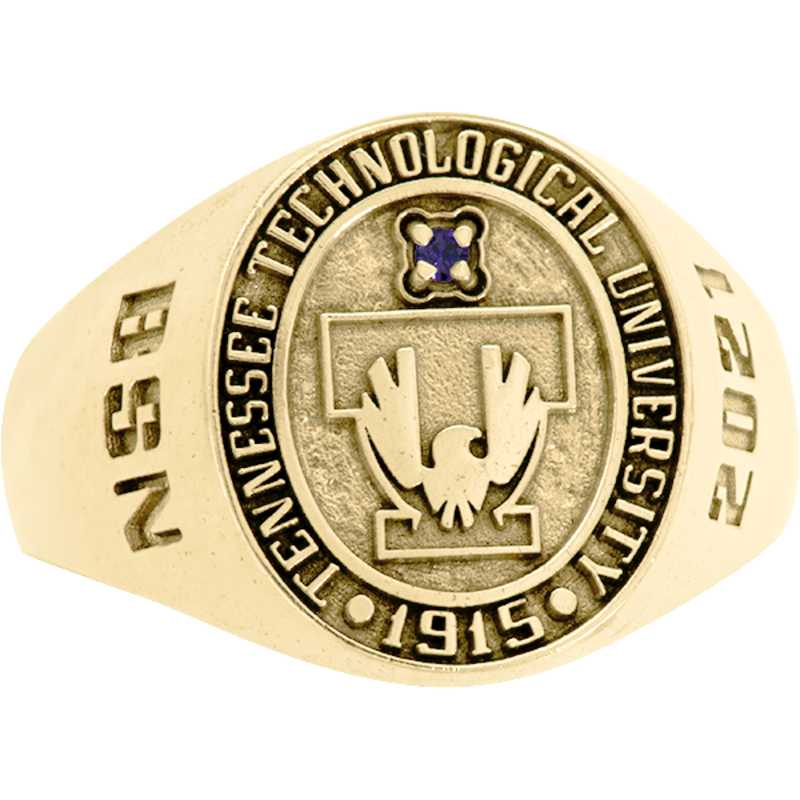 Tennessee Tech University Women's Small Round Signet Ring