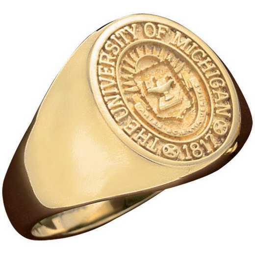 University of Michigan at Ann Arbor Official RingWomen's Signet