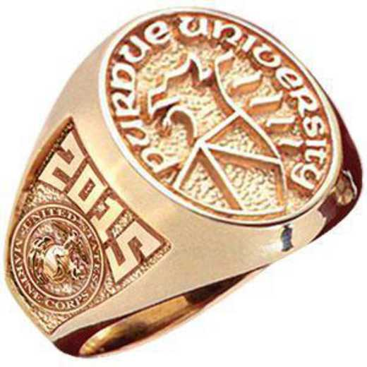 Purdue University ROTC Women's Signet Ring