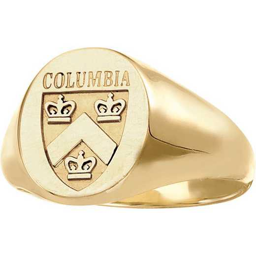 Columbia University Women's Signet Ring