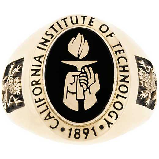 California Institute of Technology Men's Large Signet Ring
