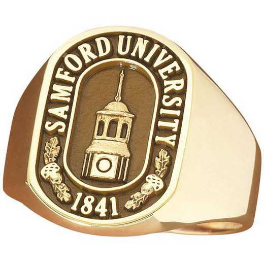 Samford University Men's Large Signet Ring