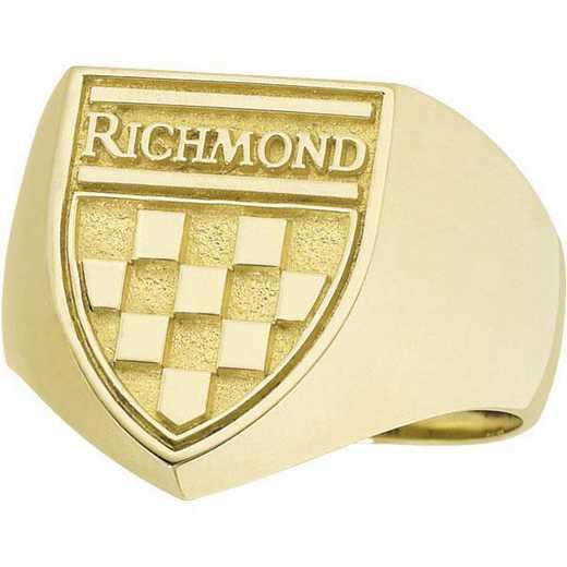 University of Richmond Men's Shield Signet - 4710L SIG Ring