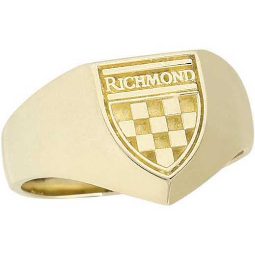 University of Richmond - Women's Shield Signet - 4710M SIG Ring