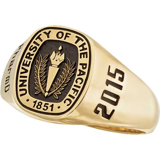 University of The Pacific Women's 4830Xs Square Signet Ring
