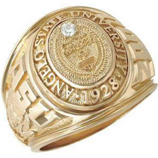 Angelo State University Men's Traditional Ring