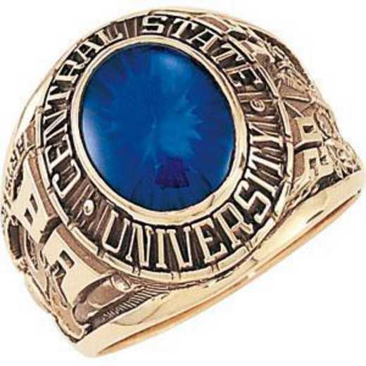 Men's Traditional Oval Ring