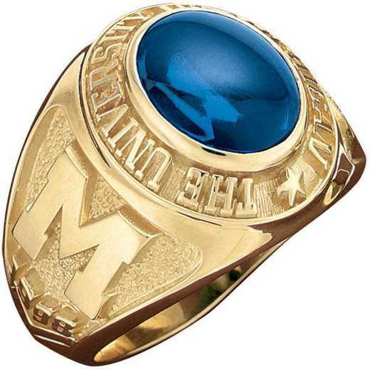 University of Michigan at Ann Arbor Official Ring Men's Traditional