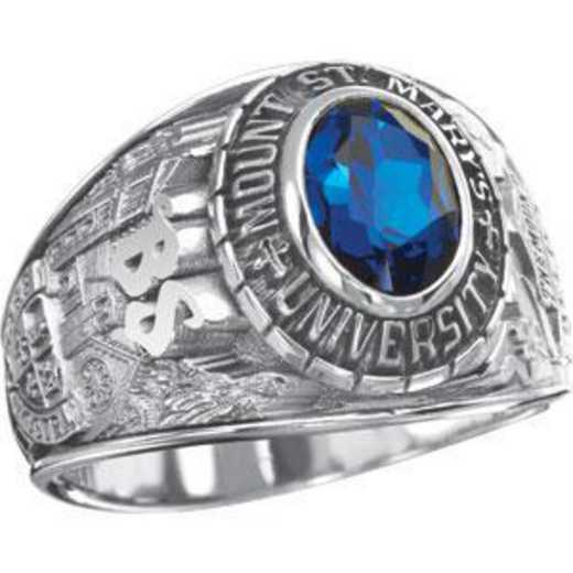Mount Saint Mary's University Class of 2012 Women's Traditional Ring