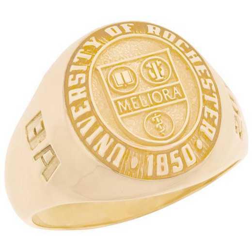 University of Rochester Men's Medium Signet Ring
