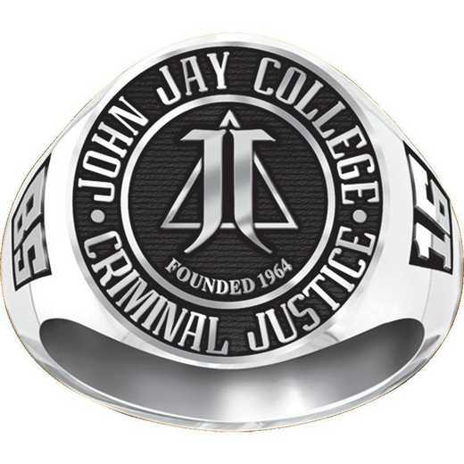 Men's Round Medallion Signet Ring