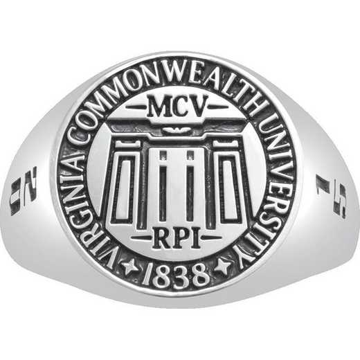 Virginia Commonwealth University Large Signet Ring