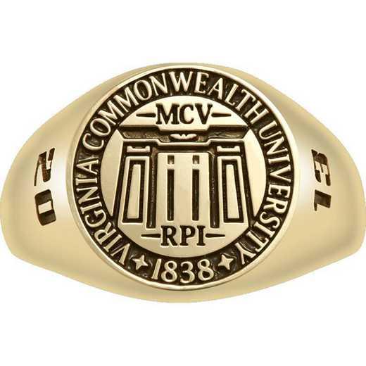 Virginia Commonwealth University Small Signet Ring