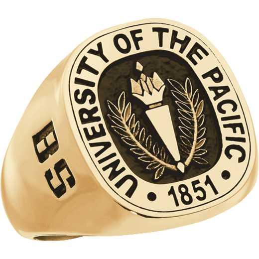 University of The Pacific Men's 4830L Square Signet Ring