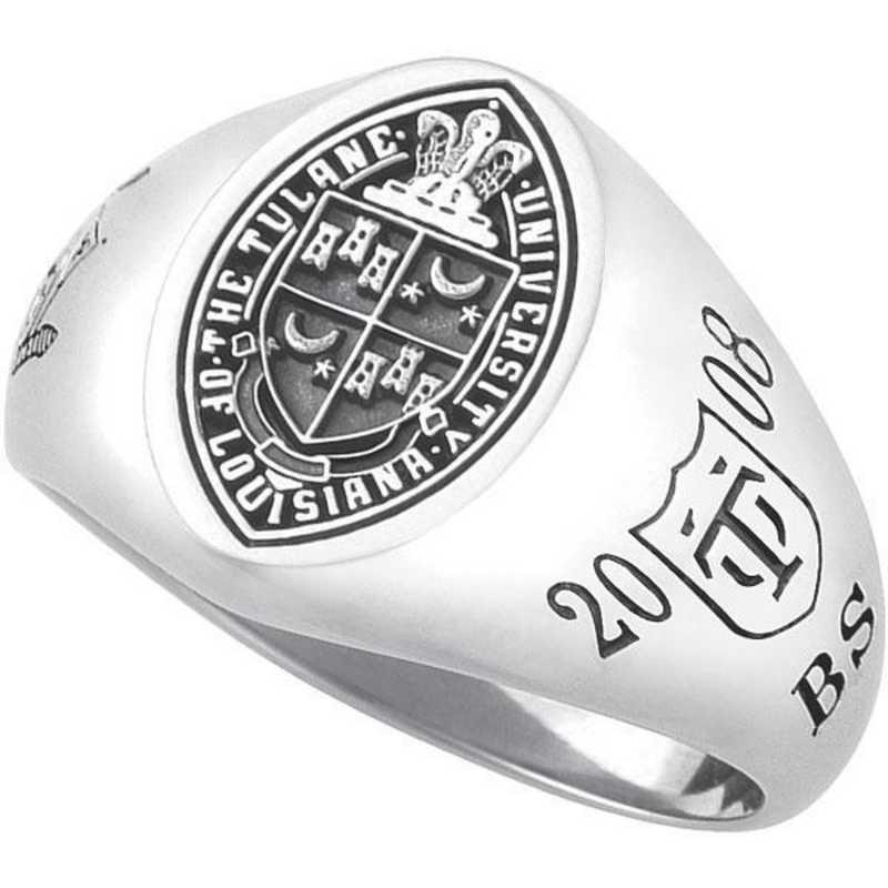 Tulane University New Orleans Women's Signet Ring