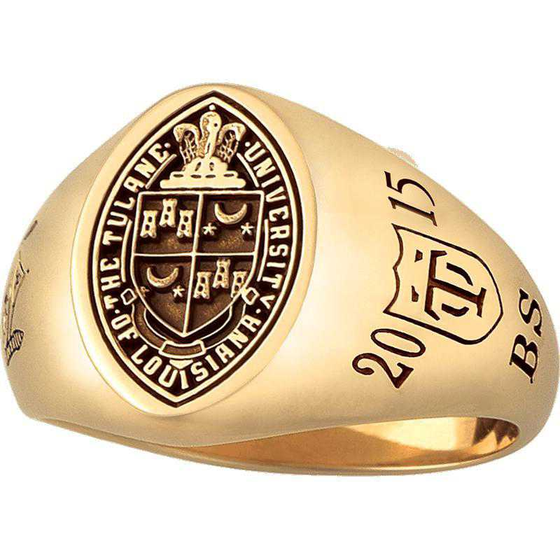 Tulane University Medical School Women's Signet Ring
