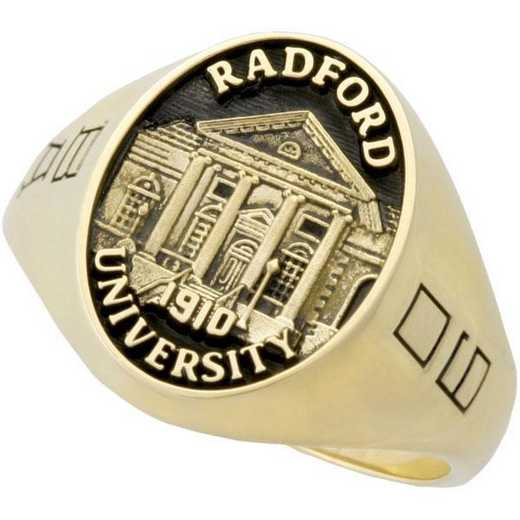 Radford University Radford-VA Men's Large Signet Ring