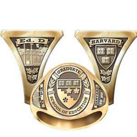 Harvard Graduate School of Education Men's Signet Ring
