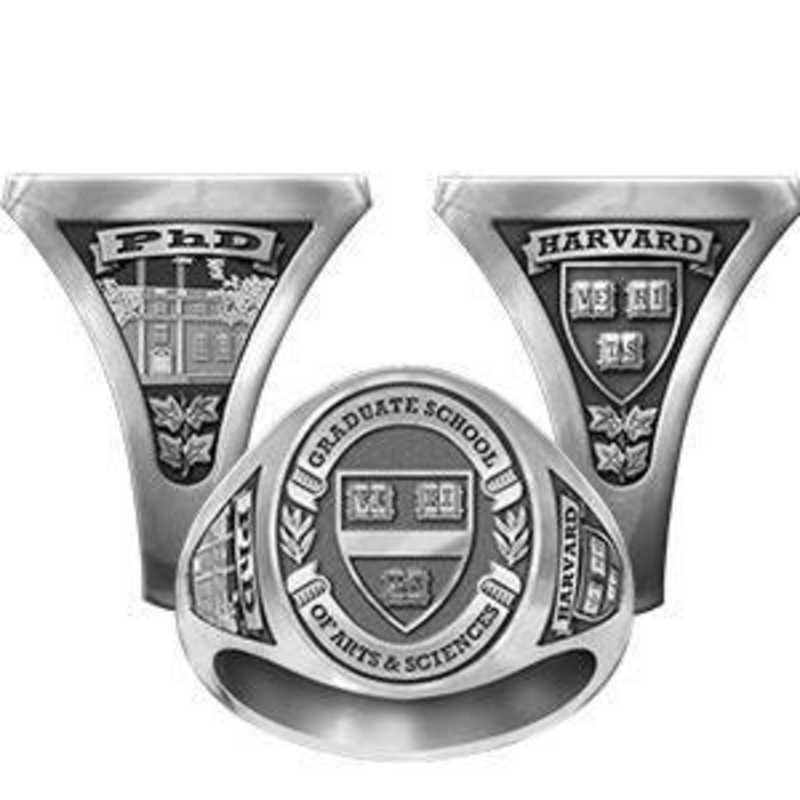 Harvard Graduate School of Arts And Sciences Women's Signet Ring