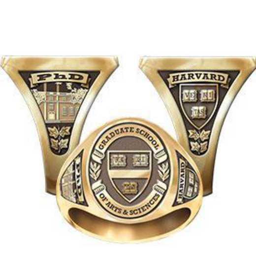 Harvard Graduate School of Arts And Sciences Men's Signet Ring