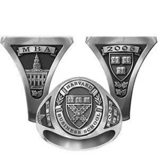 Harvard Business School Women's Signet Ring